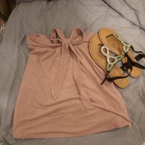 💄💄Pink Velvet Skater Skirt